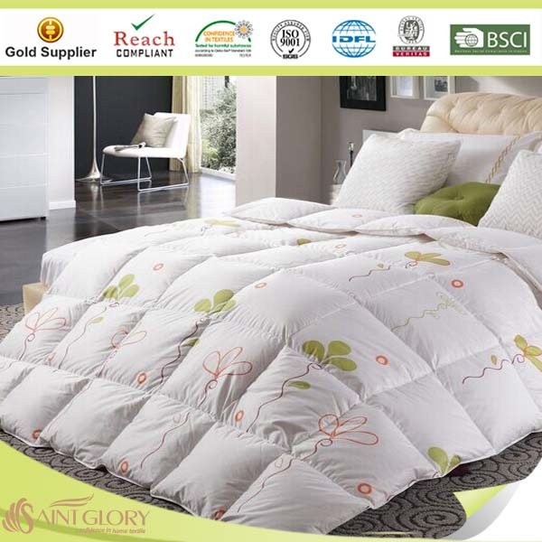 wholesale hotel and home printed anti- allergy duvet