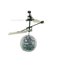 Hot selling mini RC infrared Flying robot toys