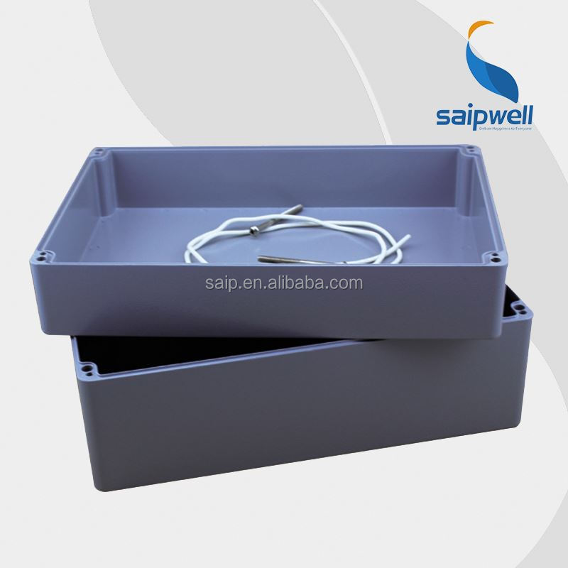 Waterproof Metal Box Aluminium rectangular plastic box with lid