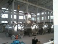 2016 YZG/FZG series Vacuum drier, SS square compressed air desiccant dryer, GMP drying oven design