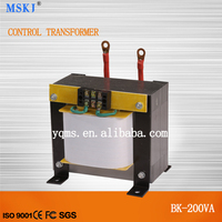 50/60HZ BK types 200VA control transformer with aluminum coil