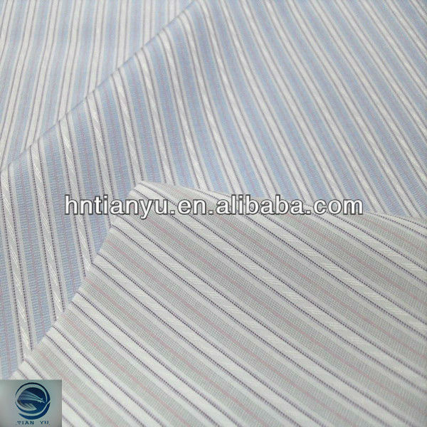 hotsale functional 100% cotton candy stripe fabric for garment