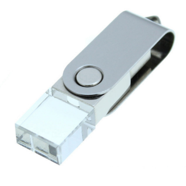 Crystal Usb Flash Drive 4Gb 8Gb 16Gb 32Gb 64Gb For Oem Logo Usb 2.0 Pen Drive Car Usb Stick