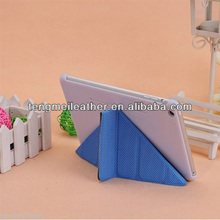Hot Sells Blue Smart Sleep/Wake Cover Case for Apple iPad2/3/4,Stand leather case for ipad 4/3/2