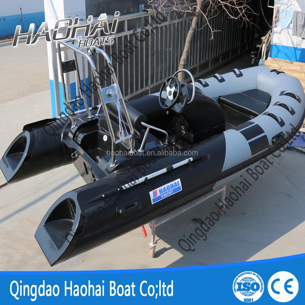 Fiberglass boat bottom
