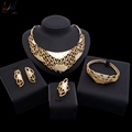 African Wedding Jewelry Fashionable Vintage Jewelry Sets Gold Jewelry Dubai for Bridal