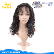 Hot sale full lace indian women hair wig xuchang, wholesale india hair wig price