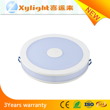 Thailand hot sale 18W led panel light 7inch round SMD LED panel ceiling light
