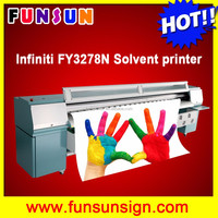 Challenger FY3278N 10ft large format digital printing machine with 8 SPT 510 50pl heads