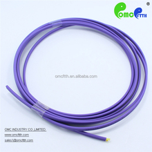High quality China made MM Purple Zip cord Duplex 2.0mm indoor Optical fiber cable