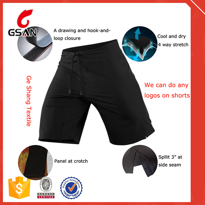 Quick dry wholesale mens blank new design crossfit shorts
