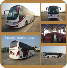 54 seats tour bus 12m luxury bus china coach bus hot sale