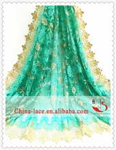 2016 New Coming Design Vintage Mint Green Dress French Style African Bridal Net Lace fabric