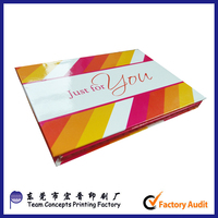 cheap custom creative gift paper card packaging boxes