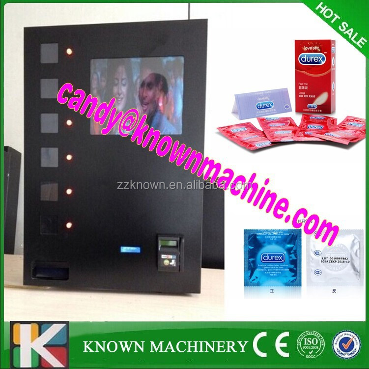 6 buttons with coin acceptor small electric vending machines