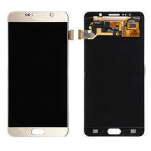 Bulk wholesale Mobile phone touch screen replacement with digitizer LCD for samsung galaxy note 5