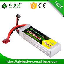 High Quality 11.1v Rc Drone Battery Lipo Battery 3500mah 35c-90c