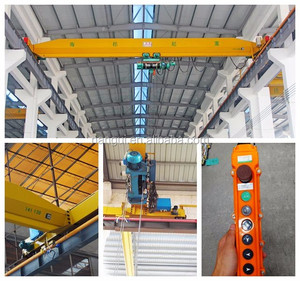 3T Single Girder Overhead Crane for Factory Warehouse Workshop Hoisting