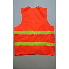 High Visibility Security Traffic Working Reflective Surveyor Construction Vest