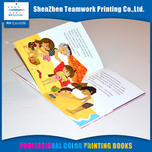 Promotional soft cover children cardboard coloring book printing