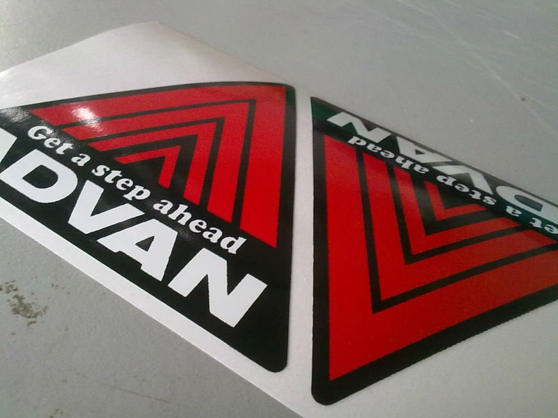 advan sticker