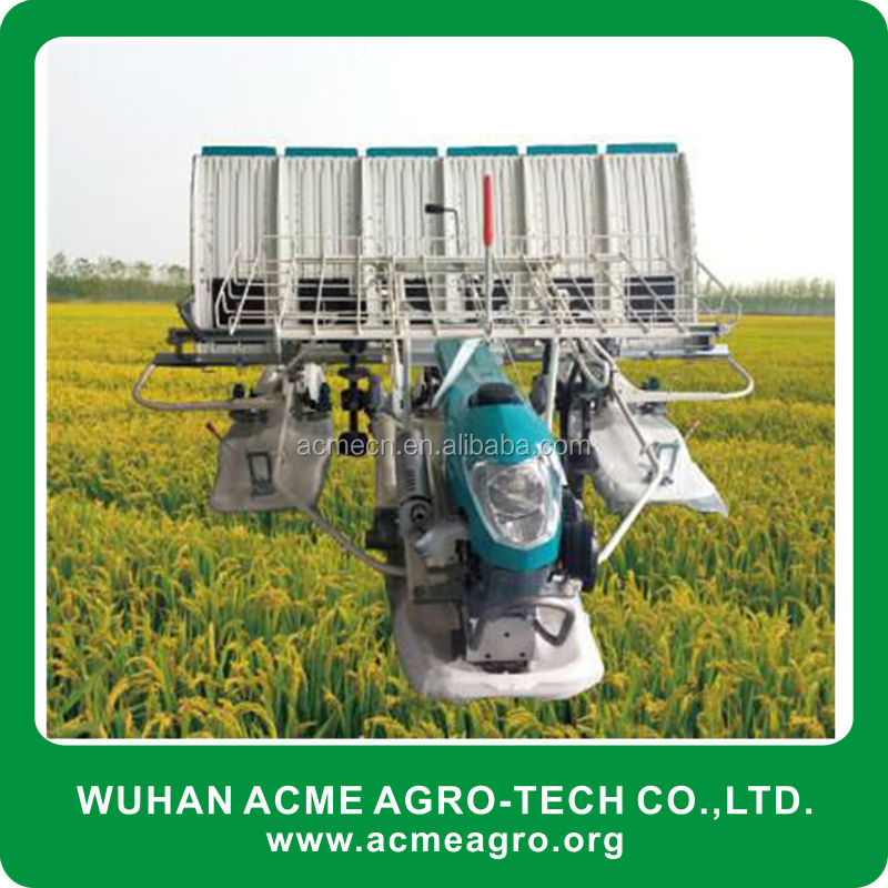 2-6 rows gasoline engine agriculture hand rice transplanter