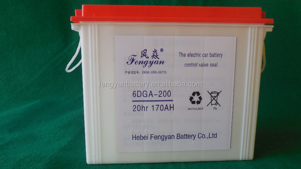 valve regulated lead acid battery 12v 200ah solar/UPS/inverter/controller/electrical bike/golf car battery 12v 200ah