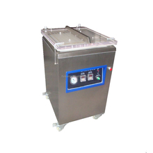 commercial manual electric air-extracting stainless steel single chamber sealing vacuum packaging machines for fresh food