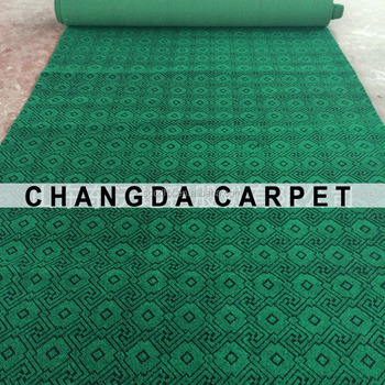 Myanmar nonwoven carpet jacquard carpet needle punched made in China muslim carpet wall to wall carpet polyester carpet