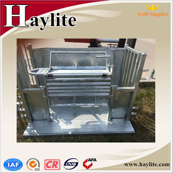 Haylite sheep turnover crate for sale