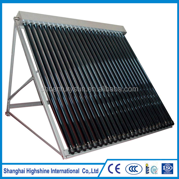Vacuum Tube non-pressure Direct Flow Solar Collector