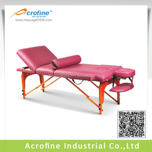 Acrofine tables de salon wood portable massage table Doughty III