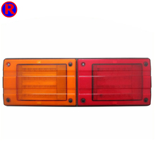 Truck or trailer led combination rear lamp /volvo truck light/round led tail light with E-mark certification