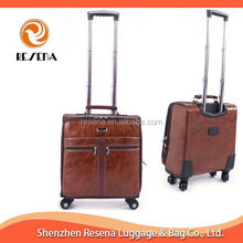 PU Trolley Laptop Bag Leather Laptop Bag