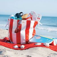 Beach Towel Bag Set Cute Cheap Beach Bags