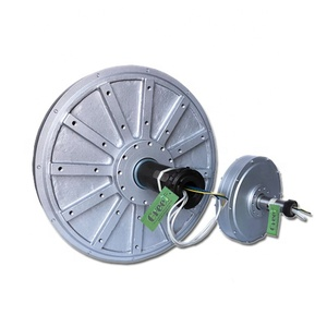 5kW 150rpm low start torque, wind turbine, disc coreless permanent magnet generator