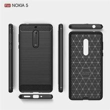New Carbon Fiber TPU Cover for Nokia 5 Protect