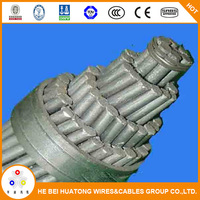 IEC 60227 Standard Aluminum steel conductor reinforced ACSR dog conductor price specification