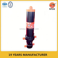 large long stroke heavy duty multi stage telescopic hydraulic cylinder