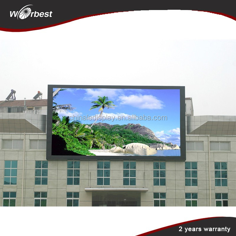 High quality outdoor sex video china p8 led display panel for advertising