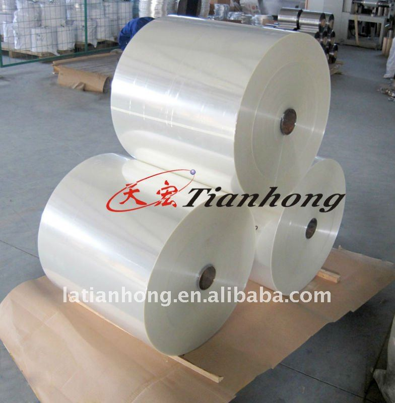 clear color insulated PET Tape for electrical use