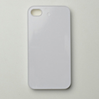 For iphone 4 4s 4g DIY blank sublimation case with groove for inserting sublimation printing wholesale