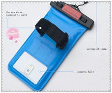 hot sale and corlorful waterproof pouch bag case for handphone