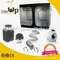 Hydroponics 5' air duct inline hydroponic duct booster fan/ventilation system/duct mounted air duct exhaust fan