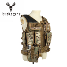 Factory direct camouflage female bulletproof military molle heavy vest