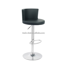 Adjustable Swivel Round Leather Lab Chair/Bar Stool High Chair