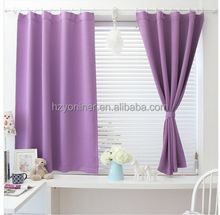 100%polyester print and foil blackout curtain fabric