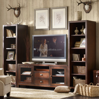 F50288A-1wall tv cabinet design wooden lcd tv stand fancy wooden tv stand