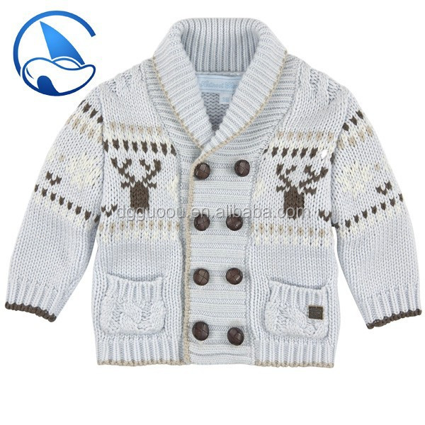 Fashion Christmas Wool Baby Sweater Design