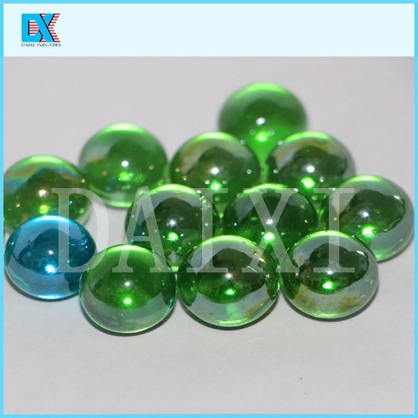 Wholesale decorative round glass marbles